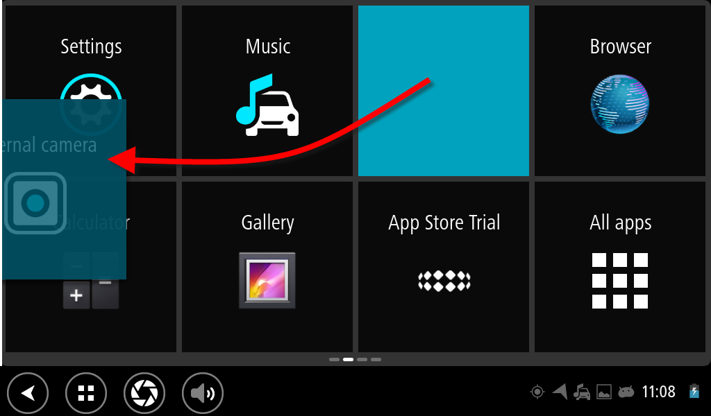 moving and resizing apps and widgets